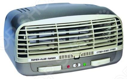 Воздухоочиститель Супер Плюс Турбо Очиститель-ионизатор воздуха Супер Плюс Турбо 2009 /Серебристый