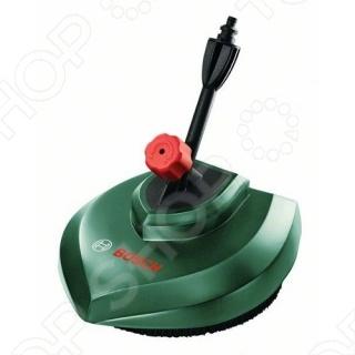 Насадка для мытья террас Bosch отлично подходит для мытья террас, дорожек, мощеных покрытий. Диаметр в 24 сантиметров позволяет выполнять очистку необходимых поверхностей легко и просто. Мягкая щетина не царапает поверхность и в тоже время тщательно очищает от мусора, пыли и листьев. Приспособление выполнено из качественного материала, прослужит долго.