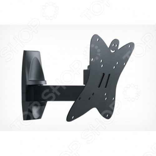 Кронштейн для телевизора Holder LCDS-5037 holder lcds 5065 black gloss кронштейн для тв