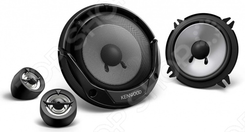 Система акустическая компонентная Kenwood KFC-E130P автомагнитола kenwood kdc 300uv usb mp3 cd fm rds 1din 4х50вт черный