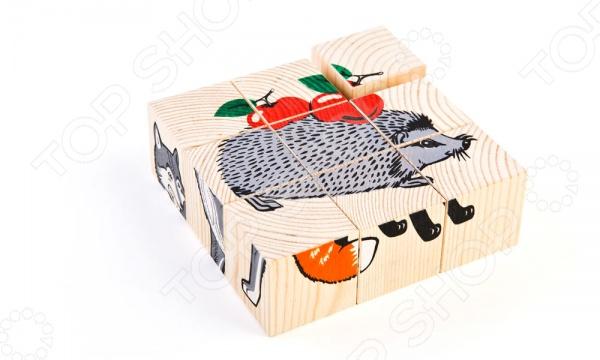 Кубики Томик «Животные леса»