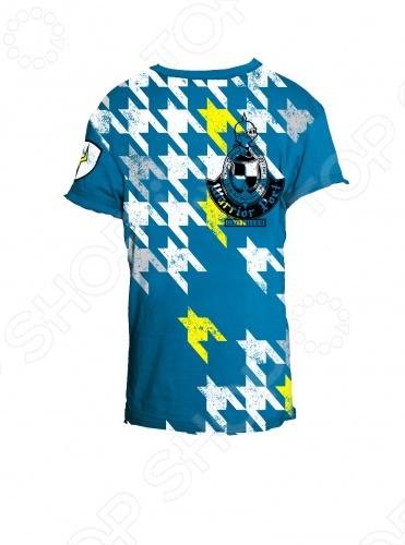 Футболка Warrior Poet Tumble Tooth-SS T-ShirtФутболки для мальчиков<br>Линия Warrior Poet - это нечто большее, чем стильная одежда для мальчишек. Смелый крой, ткани, имитирующий тусклый блеск благородной стали, символы, сочетающие высокую поэзию древности с остроумием современных дизайнерских решений. Как гласит девиз компании, Мы создаем современную броню из одежды для нового поколения: мы поможем мечтать больше, идти дальше и выглядеть лучше . Материал 100 чесаный хлопок, без добавления синтетики. Если модели с модным сейчас приталенным силуэтом. По горловине идет вставка с лайкрой изнутри, чтобы воротник не растягивался и не деформировался. Края обработаны очень аккуратно. Цветовая палитра выше всяких похвал. Футболка Warrior Poet Tumble Tooth-SS T-Shirt идеально подходит для активных и любознательных юных джентльменов! Модель выполнена из гипоаллергенного хлопкового материала высокого качества обеспечивает максимальный комфорт и не раздражает кожу. Яркий голубой цвет, дополненный оригинальным принтом, непременно порадует вашего ребенка! Футболка Warrior Poet Tumble Tooth-SS T-Shirt является ярким представителем стиля casual. Сейчас она особенно популярна и выполнена из экологически чистых и безопасных материалов и красок. Грамотный крой и высококачественный хлопок обеспечивают хорошую посадку по фигуре. Декоративно обработанные швы придают изделию стильное внешнее оформление.<br>