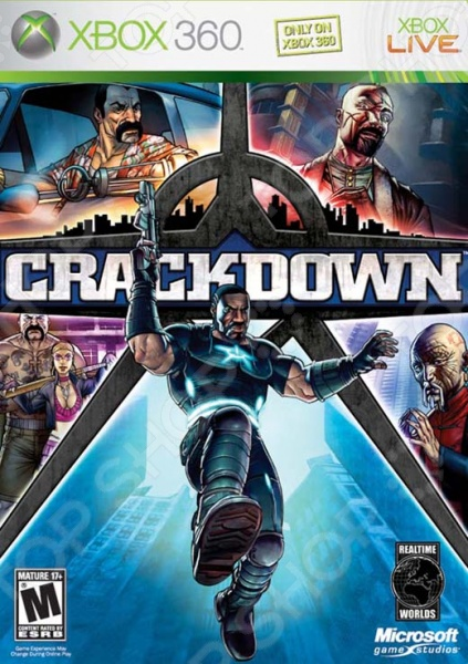 фото Игра для Xbox 360 Microsoft Crackdown, Игры для игровых консолей