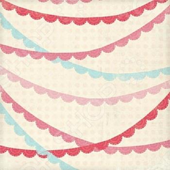 фото Бумага для скрапбукинга двусторонняя Morn Sun Doily Banners, купить, цена