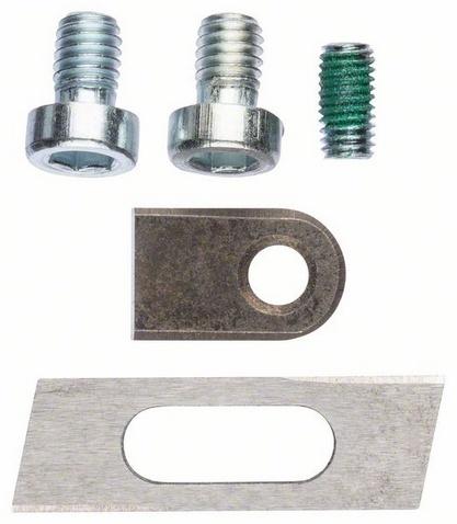 Набор ножей по металлу для листовых ножниц Bosch для GSC 2.8 цены