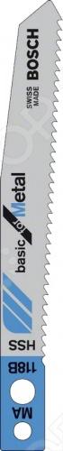 Набор пильных полотен Bosch MA118B HSS конденсатор duelund vsf 100 v 33 uf aluminium