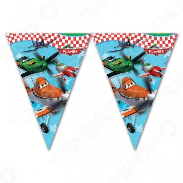 Гирлянда детская Procos «Самолеты» disney гирлянда детская на ленте тачки с днем рождения