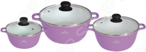 Набор кухонной посуды Bohmann BH-6006WCR. В ассортименте