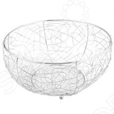 Фруктовница Regent 93-TR-01-02 украсит любой интерьер. Фруктовница добавит порядка, уюта и удобства как на кухне, так и в гостиной. В этой вазе даже на повседневном столе фрукты будут выглядеть празднично.Подходит для рациональной организации кухонного пространства. Оригинальный, современный вид сервировки стола. К особенностям можно отнести - диаметр - 29 см, высоту в 15 см.