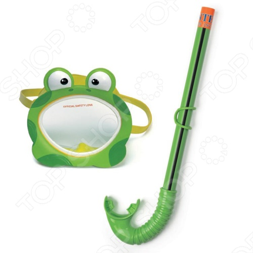 Набор из маски и трубки Intex 55940 «Лягушка» аквапалку для плавания в барнауле