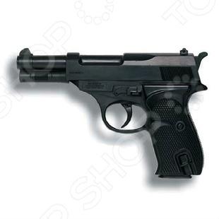 Пистолет Edison Giocattoli Eaglematic edison игрушечный пистолет с пистонами eaglematic серия soft touch 17 5 см
