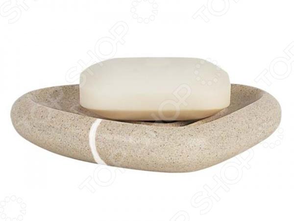 Мыльница Spirella ETNAАксессуары для ванной комнаты<br>Мыльница Spirella ETNA - это незаменимый аксессуар вашей ванной комнаты. Изделия отличается модным дизайном и изготовлена из высококачественной керамики. Данная модель необычной формы отлично впишется в любой интерьер ванной комнаты. Размер - 14,5х2,5x10,5 см.<br>