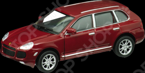 Модель машины 1:31 Welly Porsche Cayenne Turbo. В ассортименте