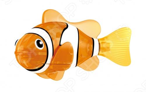 Роборыбка светодиодная Zuru «Красная Сирена» zuru роборыбка клоун желтая robofish