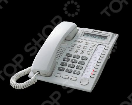 Системный телефон Panasonic KX-T7730RU системный телефон panasonic kx dt546rub черный [kx dt546ru b]