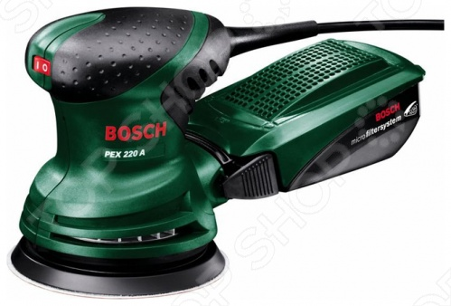 Машина шлифовальная эксцентриковая Bosch PEX 220 A