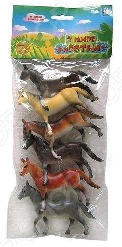 Набор фигурок 1 Toy «Лошади» набор фигурок help ассорти от моли 15шт кедр