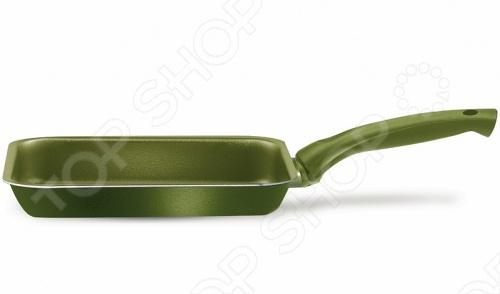 Сковорода-гриль PENSOFAL PEN8719 это объемная сковорода с высококачественным керамическим покрытием прекрасно подходит для жарки, пассировки и тушения. Благодаря специальному покрытию, на ней можно приготовить разнообразные блюда из мяса, рыбы, птицы и овощей практически не используя масло. Готовое блюдо получится не только вкусным, но и полезным. Сковорода снабжена эргономичной бакелитовой ручкой, которая не нагревается в процессе приготовления пищи, выдерживает до температурной отметки в 200 градусов.