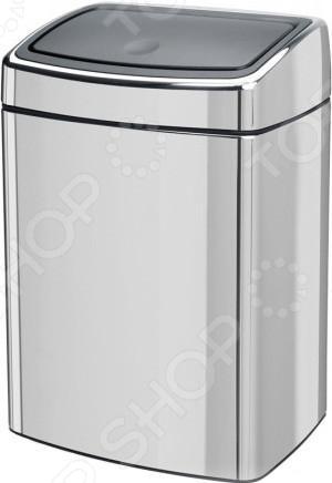 фото Бак для мусора прямоугольный Brabantia Touch Bin. Объем: 10 литров, купить, цена