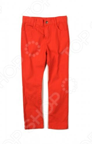 Брюки Appaman Skinny twill pants. Цвет: красный