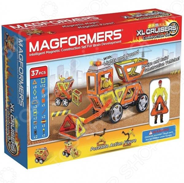 Magformers  Конструктор магнитный «Круизер Строители»
