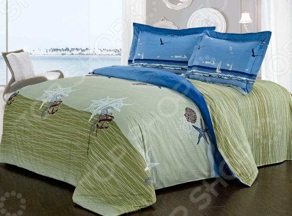 Комплект постельного белья Softline 09924. ЕвроЕвро<br>Комплект постельного белья Softline 09924 это незаменимый элемент вашей спальни. Человек треть своей жизни проводит в постели, и от ощущений, которые вы испытываете при прикосновении к простыням или наволочкам, многое зависит. Чтобы сон всегда был комфортным и безмятежным, а пробуждение лёгким и приятным, мы предлагаем вам этот качественный комплект постельного белья. Благодаря красивой расцветке и высококлассным материалам изготовления, атмосфера вашей спальни наполнится теплотой и уютом, а вы испытаете множество сладостных мгновений спокойного сна:  В качестве сырья для изготовления этого изделия использованы нити хлопка. Натуральное хлопковое волокно известно своей прочностью и легкостью в уходе. Волокна хлопка состоят из целлюлозы, которая отлично впитывает влагу. Хлопок дышит и согревает лучше, чем шелк и лен. Поэтому одежда из хлопка гарантирует владельцу непревзойденный комфорт, а постельное белье приятно на ощупь и способствует здоровому сну. Не забудем, что хлопок несъедобен для моли и не деформируется при стирке. За эти прекрасные качества он пользуется заслуженной популярностью у покупателей всего мира.  Изысканный шарм изделию придает сатиновое плетение. Сатин один из видов хлопковой ткани. Он имеет гладкую, шелковистую лицевую поверхность и вполне заслуженно пользуется большой популярностью у самых требовательных покупателей. Изделия из сатина долговечны и выдерживают большое число стирок. Кроме того, цена сатина ниже, чем у шелка, а качество ничуть не хуже: он такой же гладкий и приятный на ощупь. Сатиновые простыни и пододеяльники станут прекрасным дополнением вашей постели, украсят ее и сделают ваш сон крепким и сладким.<br>