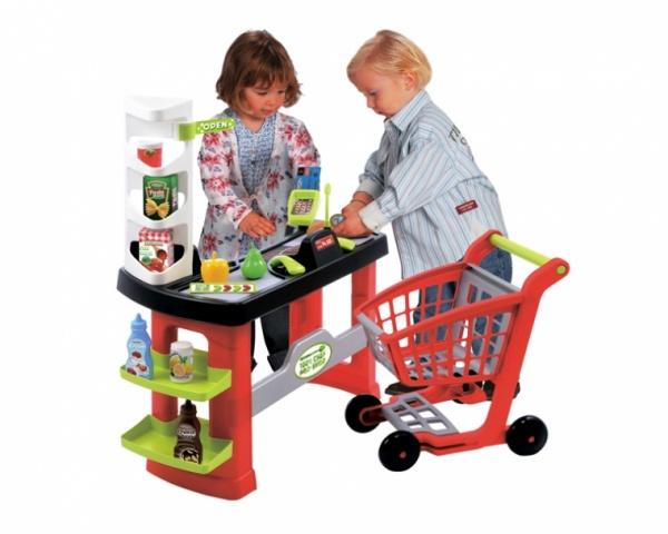 Супермаркет игровой с тележкой Ecoiffier 1740