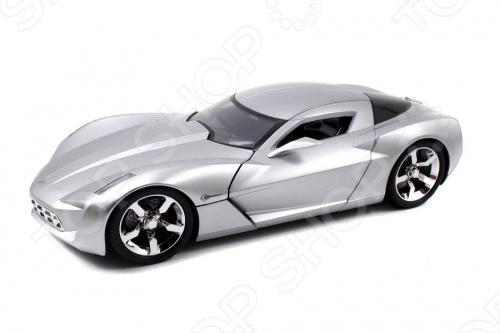 Модель автомобиля 1:18 Jada Toys Corvette Stingray Concept - Glossy 2009