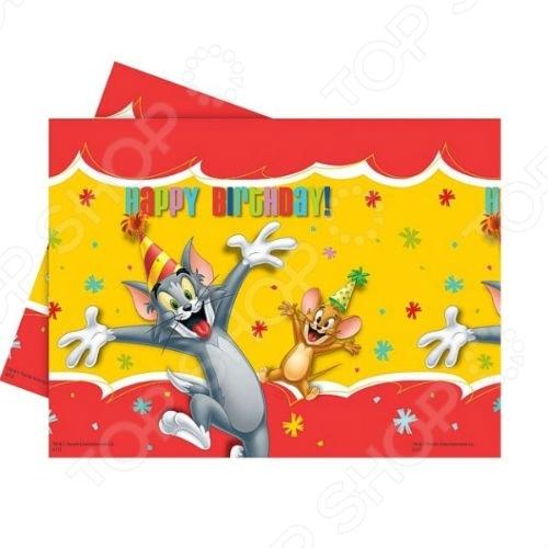 Скатерть детская Procos «Вечеринка Тома и Джери»