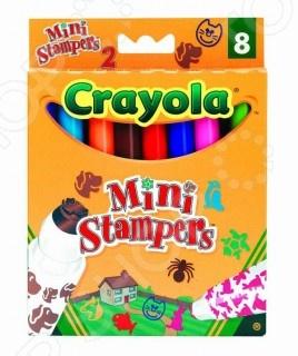 Набор мини-штампов Crayola «Домашние животные»