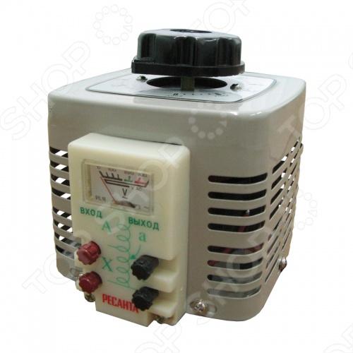 Автотрансформатор Ресанта TDGC2-0,5 автотрансформатор латр ресанта tdgc2 2k