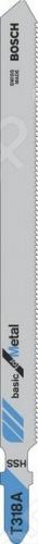 Набор пилок для лобзика Bosch T 318 А HSS пилка для лобзика bosch 2609256746 2609256746