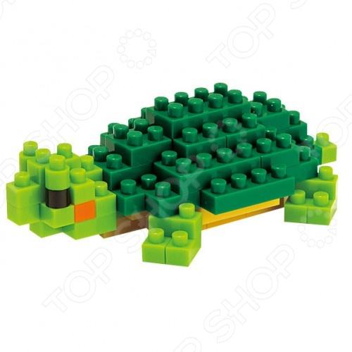 Мини-конструктор Nanoblock NBC_033 «Красноухая черепаха» мини конструктор nanoblock dj сет