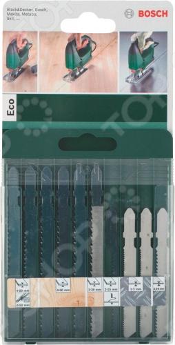 Подробнее о Bosch SET T ECO полотно пильное для лобзика по дереву