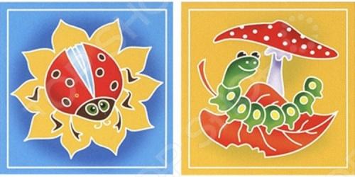 Набор для росписи ткани RTO BK-021/022Роспись по ткани<br>Набор для росписи ткани RTO BK-021 022 - эксклюзивный продукт на российском рынке. По контуру изображения нанесен воск, благодаря чему краски не растекаются, а рисунок быстро приобретает нужные очертания. В набор входят два отреза ткани с контурным рисунком, картонный каркас с креплением из самоклеющейся ленты, кисть для рисования, три сухие краски для разведения водой:красная, желтая, синяя, фиксатор краски. Набор упакован в прозрачный пакет, в комплект входит подробная иллюстрированная инструкция.<br>