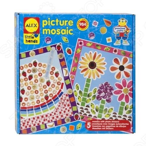 Мозаика-стикеры ALEX «Из фотографий»