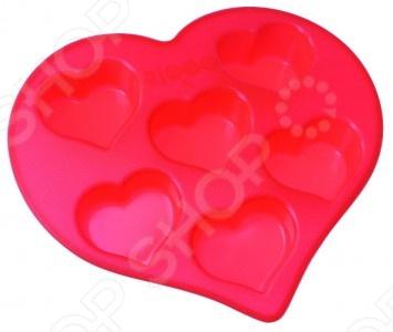 Форма для выпечки силиконовая Regent Сердечки