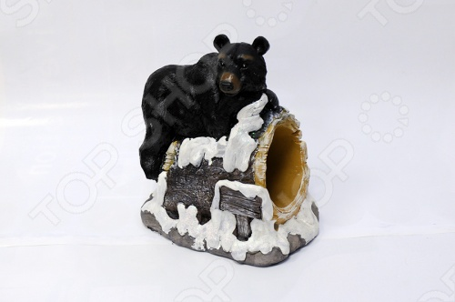 Подставка для вина Drivemotion «Медведь на скале»
