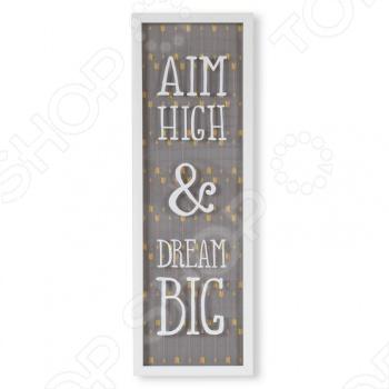 фото Декор для стен Umbra Aim High & Dream Big, Декор стен. Постеры