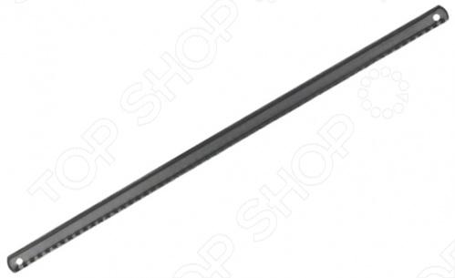 Набор полотен ножовочных по металлу FIT 40140Ножовочные полотна<br>Набор полотен ножовочных по металлу FIT применяется в качестве запасного режущего элемента для ножовки по металлу при проведении слесарно-монтажных и строительных работ. Узкое одностороннее полотно имеет остро заточенные закаленные зубья, что обеспечивает чистый и аккуратный рез. Размер 300х12 мм.<br>