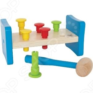 Игрушка деревянная Hape «Гвоздики» hape деревянная игрушка пазл счастливые часы