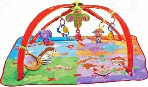 Zakazat.ru: Развивающий коврик Tiny love «Разноцветное сафари»