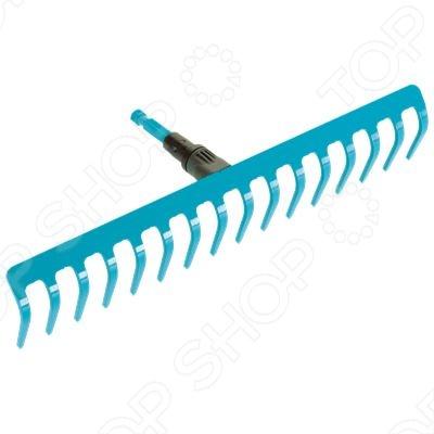 Грабли универсальные Gardena 3179 представляют собой практичный многофункциональный инструмент, который идеально подходит для очистки, обработки и выравнивания почвы. Экстра-широкая рабочая поверхность 41 см с 16 зубьями делает работу быстрой и комфортной. Грабли сочетаются с любой ручкой комбисистемы Gardena, однако производитель рекомендует использовать ручку длиной 150 см. Подбирайте высоту ручки в зависимости от роста пользователя. Внимание! Ручка в комплект не входит.