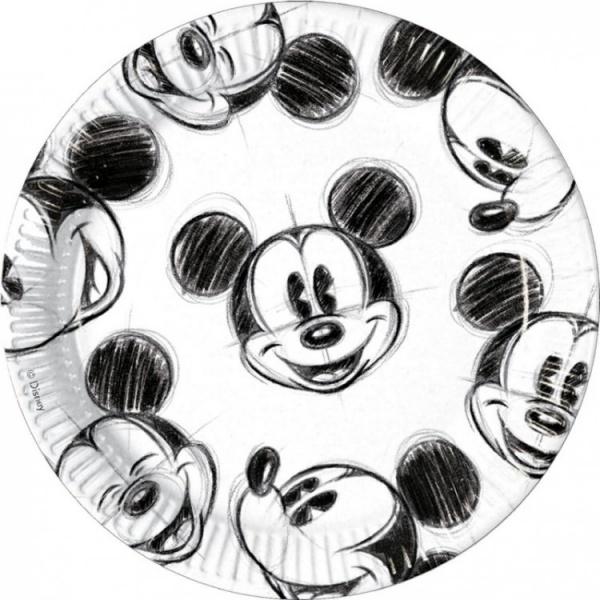 Тарелки одноразовые Procos «Гримассы Микки» просто вкусно праздничный стол