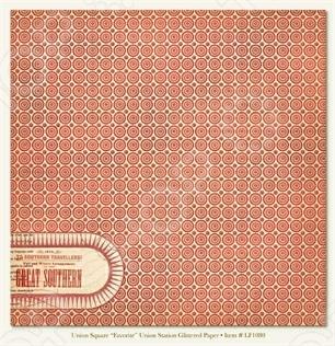 фото Бумага для скрапбукинга двусторонняя Morn Sun Union Station, купить, цена