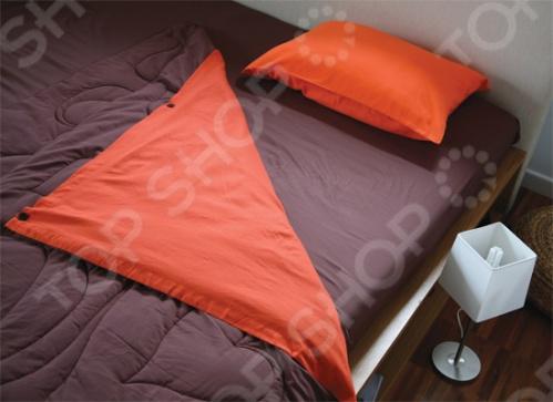 Фото Комплект Dormeo Bed Set Trend. Размерность: 1,5-спальное. Цвет: коричневый, оранжевый