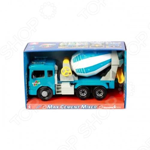 Машинка игрушечная Daesung MAX бетономешалкаМашинки<br>Машинка игрушечная Daesung MAX бетономешалка - яркая, реалистичная, качественно смоделированная копия грузовика специальной службы. Отличная модель с инерционным механизмом, для игры как дома, так и на улице с друзьями. Подарите вашему малышу интересную и оригинальную игрушку, которая в свою очередь обеспечит массу удовольствия и веселья за игрой.<br>