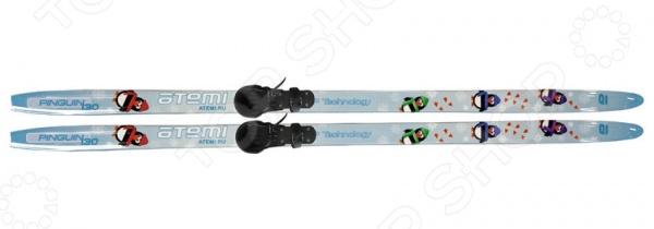 фото Комплект лыжный Atemi Pinguin 2014, купить, цена