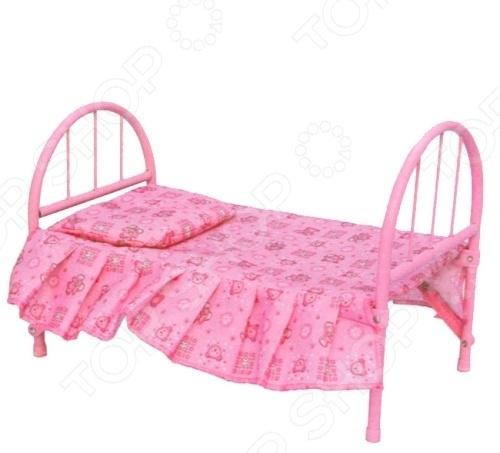 Кроватка для кукол 1 Toy Т53135