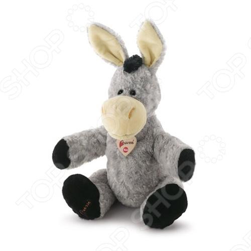 Мягкая игрушка Trudi ОсликМягкие игрушки<br>Игрушка мягкая Trudi Ослик это замечательный подарок вашему малышу! Игрушка изготовлена из высококачественных гипоаллергенных материалов, которые абсолютно безвредны для ребенка. Забавный зверек украсит любую детскую комнату и принесет радость и веселье во время игр. Trudi Ослик поможет развить тактильные навыки, зрительную координацию и мелкую моторику рук. Изделие можно стирать в стиральной машинке при температуре не выше 30 градусов.<br>